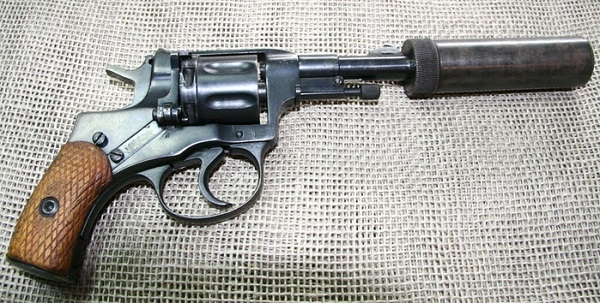 Глушитель для револьвера