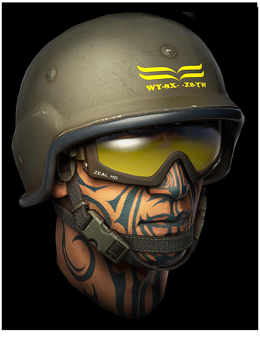 Шлем штурмовика K.I.W.I.