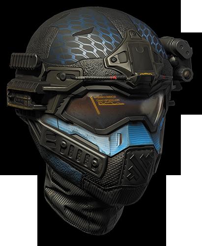 Шлем штурмовика«Спектр» (Гамма)