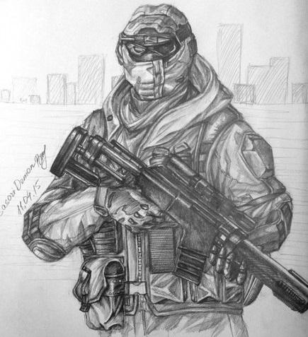 Рисунки оружия варфейс