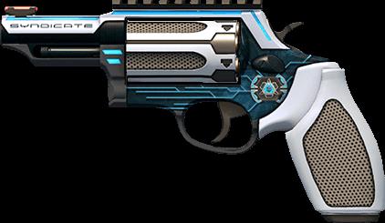 Пистолет Taurus Judge в камуфляже Синдикат