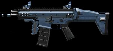 Камуфляж «Морской» для FN SCAR‐L PDW