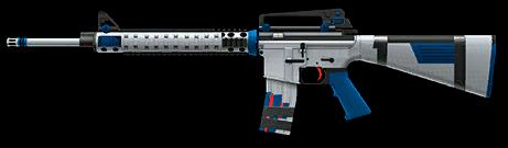 Камуфляж «Евро» для M16A3 Custom