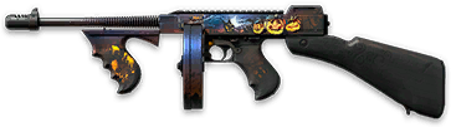 Камуфляж «Хеллоуин» для Thompson M1928