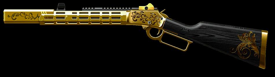 Золотой Marlin 1894 Custom