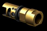 Золотой пламегаситель CZ 805 BREN A2