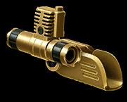 Золотая особая рукоятка Micro-Roni CAA