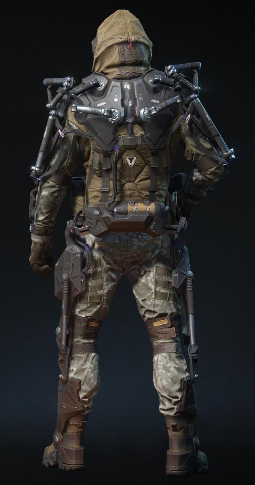 Экзоскелет снайпера 'МБЭ-2' (вид сзади).png