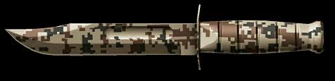 Горный камуфляж для универсального ножа KA-BAR