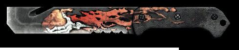 Армейский нож «Антизомби»