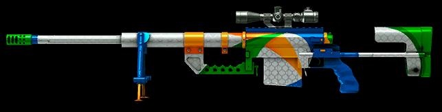 Камуфляж «Летние игры» для CheyTac M200