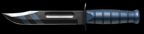 Камуфляж «Море» для ножа Ka-Bar