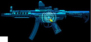 Камуфляж «Импульс» для H&K MP5A5 Custom
