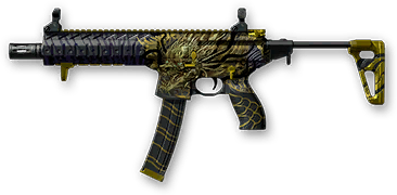 Камуфляж «Золотой дракон» для SIG MPX SBR Custom