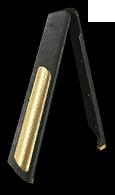 Золотые улучшенные сошки для Steyr Scout (разложенные)