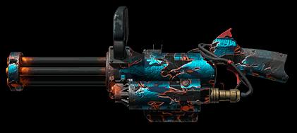 Камуфляж «Восьмая годовщина» для XM556 Microgun