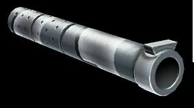 Зимний глушитель для снайперской винтовки