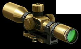 Золотой оптический прицел (4.5-крат.)