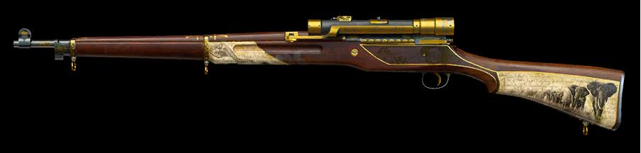 Золотой M1917 Enfield
