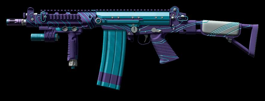 Камуфляж «Эфир» для FN FAL DSA-58