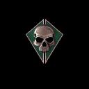 Бронзовый череп