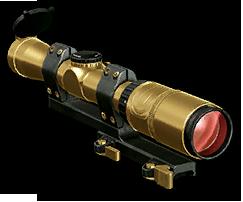 Золотой оптический прицел (4-крат.)