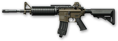 Наградная винтовка M4A1