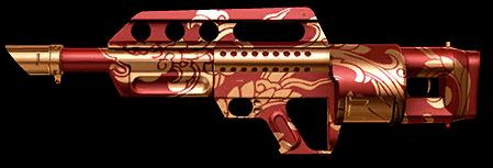 Камуфляж «Алый дракон» для Jackhammer