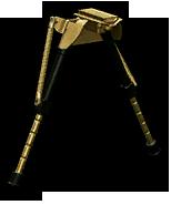 Золотые амортизирующие сошки для снайперской винтовки