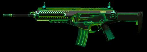 Beretta ARX160 «Радиация» (1 час / 1 день / навсегда)