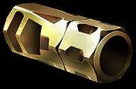 Золотой пламегаситель для ПП