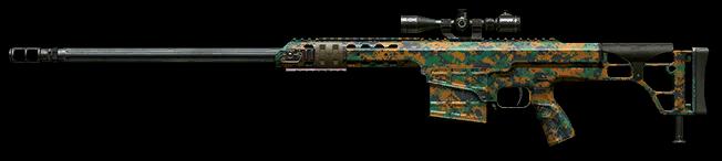 Камуфляж «Лес» для Barrett M98B