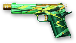 Камуфляж «Изумруд» для M1911A1