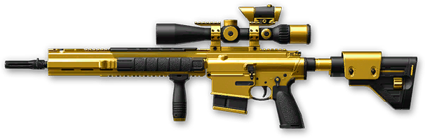 Золотая H&K G28