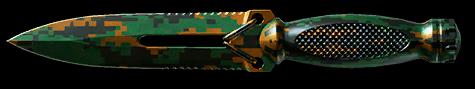 Лесной камуфляж для ножа Ultramarine