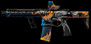 Камуфляж «Девятая годовщина» для Cobalt Kinetics Stealth Pistol