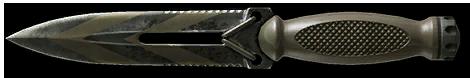 Камуфляж «Полигон» для ножа Ultramarine