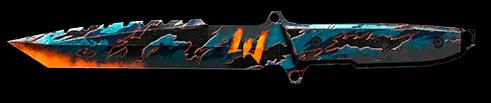 Камуфляж «Восьмая годовщина» для ножа S&W Survival Tanto