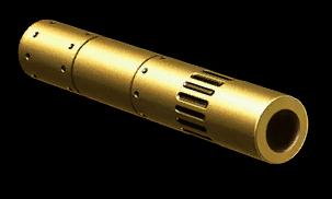 Золотой лёгкий глушитель