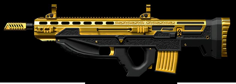 Золотая M14 Crazy Horse