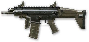 Камуфляж «Полигон» для FN SCAR‐L PDW