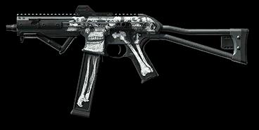 Камуфляж «Некрополь» для LWRC SMG-45