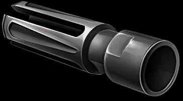 Пламегаситель для снайперской винтовки