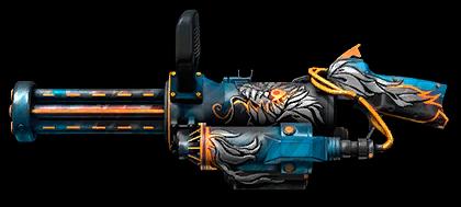 Камуфляж «Девятая годовщина» для XM556 Microgun
