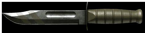 Камуфляж «Полигон» для ножа Ka-Bar
