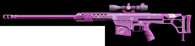 Розовый камуфляж для Barrett M98B