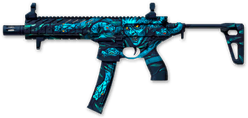 Камуфляж «Медуза» для SIG MPX SBR Custom