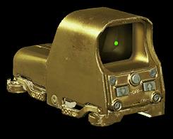 Золотой улучшенный коллиматор EOTECH 553