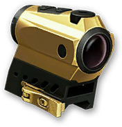 Золотой коллиматор Sig Sauer Romeo 4