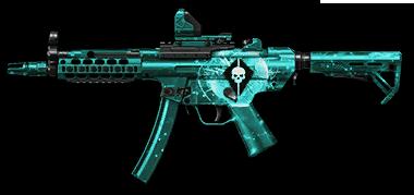 Камуфляж «Абсолют» для H&K MP5A5 Custom